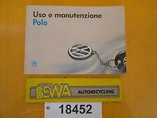 Bedienungsanleitung        VW Polo 6N           Bj.96        Nr.18452