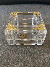 Royal Crystal Rock Trincket Jewelry Box Make in Italy