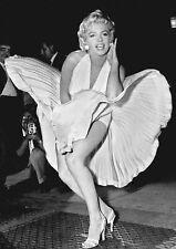 Marilyn Monroe Sexy Legs Blow Up Dress Bumper Sticker or Fridge Magnet