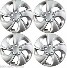 "NEW 15"" Bolt-on Hubcaps Wheelcovers 2013-2015 Honda CIVIC SET"