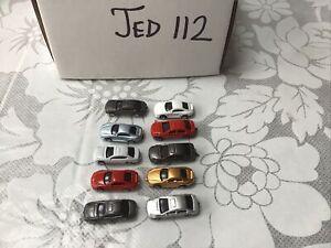 10 Pcs  Model Cars  model railway Scenery detail  Layout Z Scale Z 1:220 (JED112