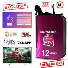 IP*TV Smart Abonnement 12 mois Smarters Pro M3U✔️SMART TV✔️ANDROID✔️BOXMAG ADULT