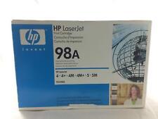 HP LASERJET 98A TONER NEW PRINT CARTRIDGE HP 4 4+ 4M 4M+ 5 5M 92298A BLACK