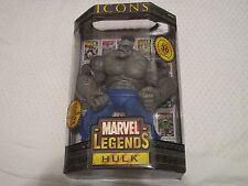 "Toy Biz Marvel Legends Icons Gray Grey Hulk 12"" Inch Action Figure"