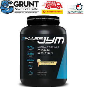 Jym Supplement Science Mass JYM Mass Gainer Protein Powder 2.2kg BUILD MUSCLE
