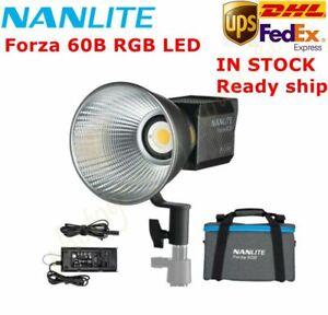 UK NanGuang NANLITE Forza 60B RGB LED Light 2700K-6500k Photography Lighting DHL