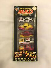 "Racing Champions Street Wheels ""Mad"" Dyno-Mite Diecast 5 Pack"
