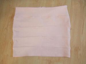 Gorgeous Peach Ribbed Stretch Mini Skirt - Size 14 - BNWOT!!