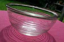 kitchen collectables 50's Art Deco Mixing bowl