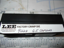 LEE Precision 91229 6.5 Carcano Factory Crimp Die Hard to Find