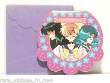 Vintage NEW Sailor Pluto Neptune & Uranus Moon & Card for Gifts 1995 TOEI Japan