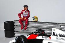 1/43 Ayrton Senna McLaren Honda figurine figure Sitting 2 1988 1989 1990 1991