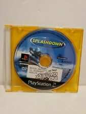 """S - """"Splashdown"""" Sony Play Station 2 2001 PS2 Disc Only Tested Works"""