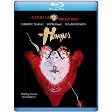 The Hunger 1983 (Blu-ray) Catherine Deneuve, David Bowie, Susan Sarandon - New