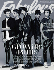 REPRINT - ONE DIRECTION 8 autographed signed photo copy reprint