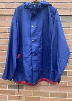 Vintage 90s Mens Nike Swoosh Snap Button/Full Zip Hooded Jacket Size XL