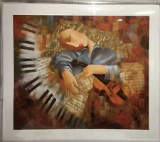 """Arbe """"An Afternoon With Mozart"""" - Signed Limited Signed Edition Giclee on Canvas"""
