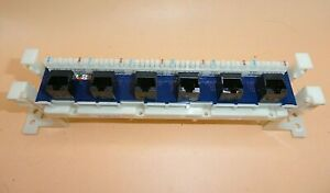 Punch Down Block with RJ45 Receptacles