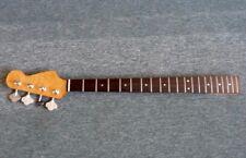NEW 60's PB bass guitar neck, slab RW fingerboard Kluson heads, bargain price !