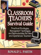 Classroom Teacher's Survival Guide Partin, Ronald Paperback