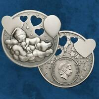 Cook Islands - Lullaby – Little Princess - 5 $ 2019 Antique finish - Silber
