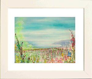 Hurlestone Bay from Porlock Hill - Print from original by Keri Manning-Dedman