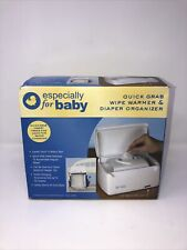 Especially For Baby Quick Grab Wipe Warmer & Diaper Organizer