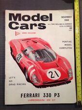 November Cars, 1960s Transportation Magazines