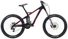 Kona Operator Gravity Carbon DH Bike MD Matt UD Carb w/Blue & Silver Decals 2015