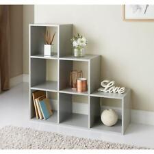 LOKKEN 1 2 3 Cubes Shelving unit White/Grey Storage unit --- Beautify your home