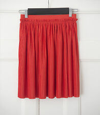 H&M Patternless Pleated, Kilt Casual Skirts for Women