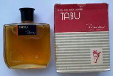 TABU DANA EAU DE COLOGNE NO 203 VINTAGE SEALED BOTTLE 1963 YEAR