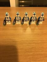 STAR WARS Lot Of 5 Custom 501st Legion Phase Two Minifigures Clone Troopers US