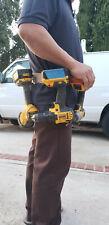 Leather tool belt, construction work belt