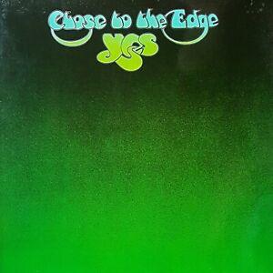 YES - CLOSE TO THE EDGE allererste deutsche Pressung Atlantic ATL 50 012 MINT-