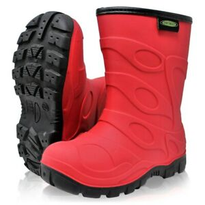 Dirt Boot® Boys Girls Thermal Winter Wellington Wellies Kids Rain Snow Booties