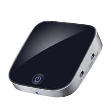 2 in 1 Bluetooth Transmitter Receiver Wireless 3.5mm Audio Adapter APTX for HDTV
