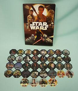 Rewe Star Wars Glitzer Karten aussuchen oder komplett Sets Cosmic Shells Neu