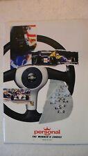 catalogue accessoires de compétition auto PERSONAL italy 1992 16 pages couleurs