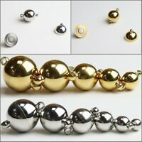 Stainless Steel Round Ball Strong Magnetic Connector Clasp Jewelry Design Repair