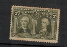CANADA.1908 EDVII. SG.192. 7 cents MINT. HEAVILY HINGED. SEE PICTURES