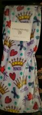 Catherine Malandrino Kids Princess Plush Lilac Throw Blanket 50X60 Butterfly NWT