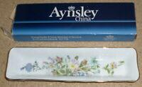 """Aynsley China Wild Tudor 8"""" Mint or Pen Tray"""