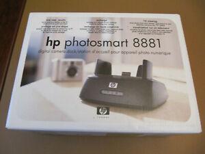 hp photosmart 8881 digital camera dock/station w/ original box