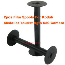 2pc/set Stainless steel 620 Empty Roll Take-Up Film Spools For Kodak Agfa Camera