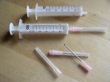 10 x orig. BD-Spritzen 10 ml - steril - inkl. Nadeln (Microlance 1,2 x 40 mm) F1