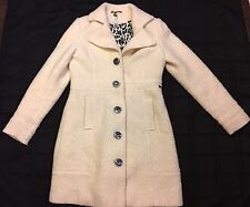 DEPT Something Truly Delightful Awaits You Winter White XL Wool Blend Coat