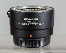 Exc+ OLYMPUS DIGITAL 2x TELE CONVERTER EC-20 Lens Four Thirds Mount