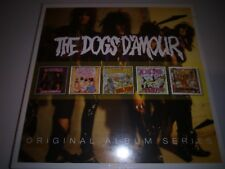 THE DOGS D'AMOUR - ORIGINAL ALBUM SERIES  5 CD SET NEW SEALED 2016 WARNER
