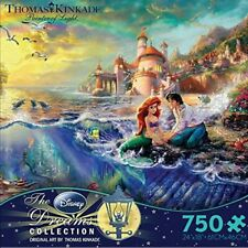 Thomas Kinkade Puzzle Disney Little Mermaid 750 Piece Ceaco Puzzle